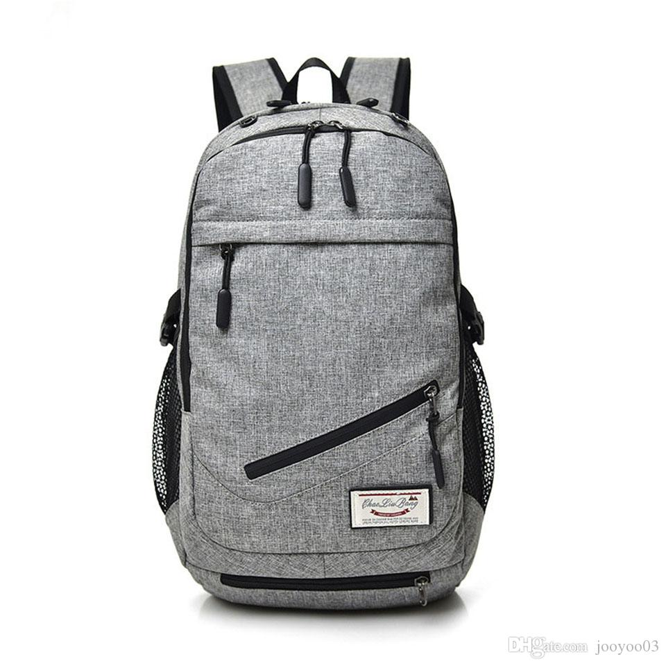 Wear Resistant Outdoor Backpack Male Travel Backpack Waterproof Computer Laptop Bag Fashion Multi-function Student School Bag Basketball Bag