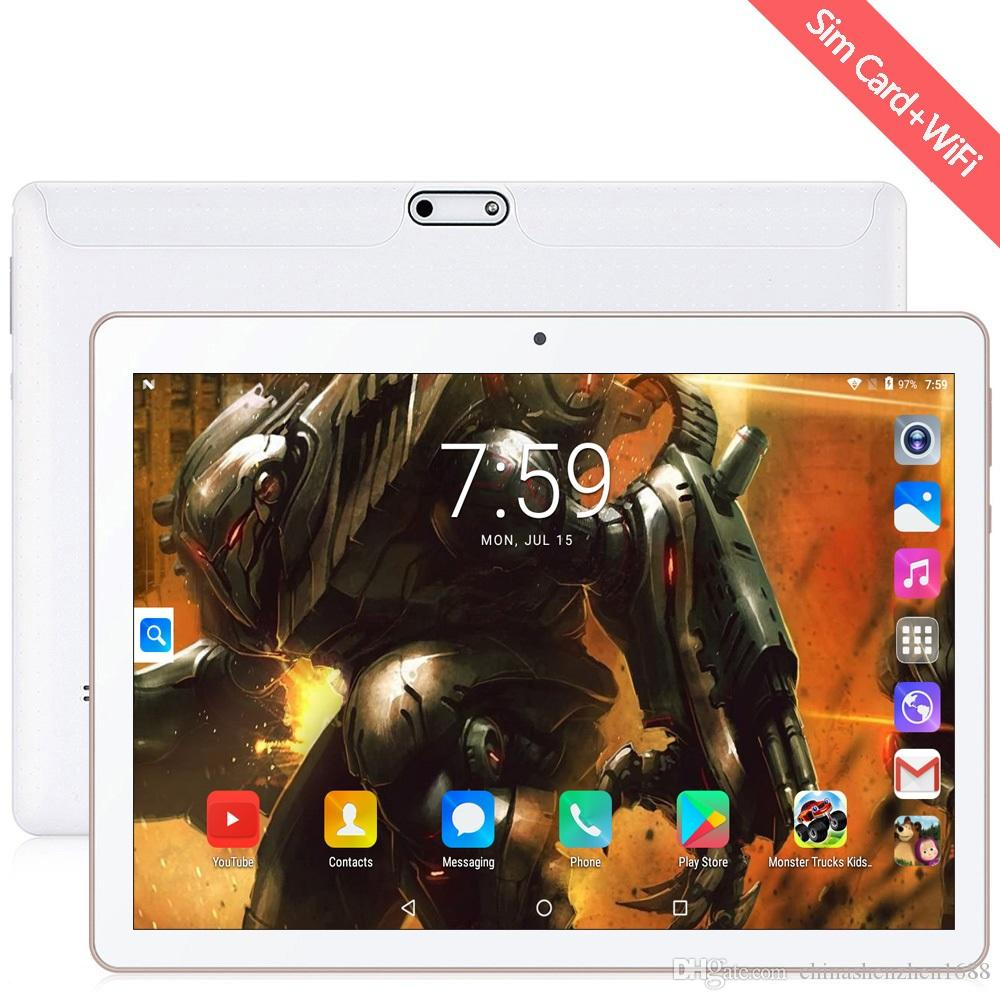 Free Shipping NEW 10 inch Tablet Pc Android 7.0 Google Market 3G Phone Call Dual SIM Cards Brand WiFi GPS Bluetooth 10.1 Tablets