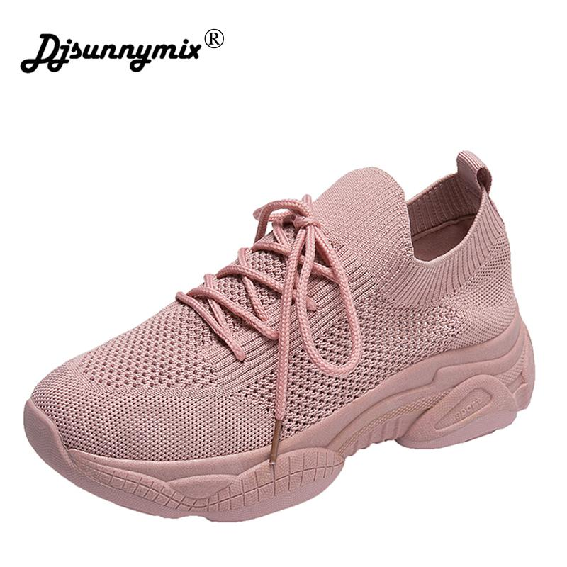 New Designer Sneakers Women Platform Sneakers Casual Shoes Women 2019 Fashion White Shoes platform basket femme