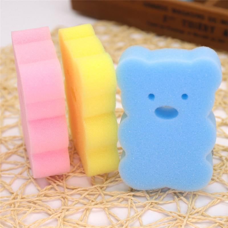 Bath Brushes Towel Baby Infant Shower Faucet Wash Child Bath Brushes Sponges Rub Sponge Cotton Rubbing Body Accessories