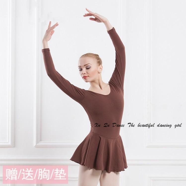 c68a7e4d15 Compre Adulto Traje Ballet Dress Mulher Dança Roupas De Ginástica Collant  Para Dança Ballet Leotards Para Mulheres Leotards De Ginástica De Geiwode