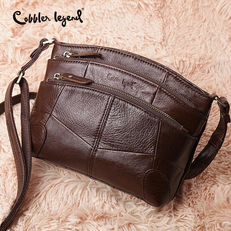 96285ea37125 Clearance Genuine Leather Crossbody Bags For Women Nice Handbag Female  Shoulder Messenger Bags Lady Small Tote Bag Purse