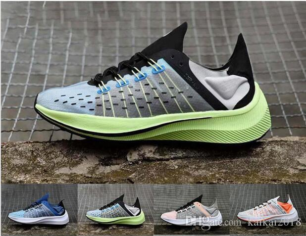 9a3e30577a521 2019 EXP X14 WMNS Zoom Fly SP Sport Shoes For Mens Women Drive Improvement  Tapered Heels Casual Shoes Translucent Upper Sports Sneakers From  Kaikai2018