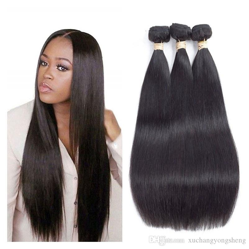 Brazilian Virgin Human Hair 3 Bundles Unprocessed Remy Straight Body Wave  Deep Culry Loose Wave Hair Bundles Natural Black Color Best Hair Weave For  Black ... 1973b1f4a