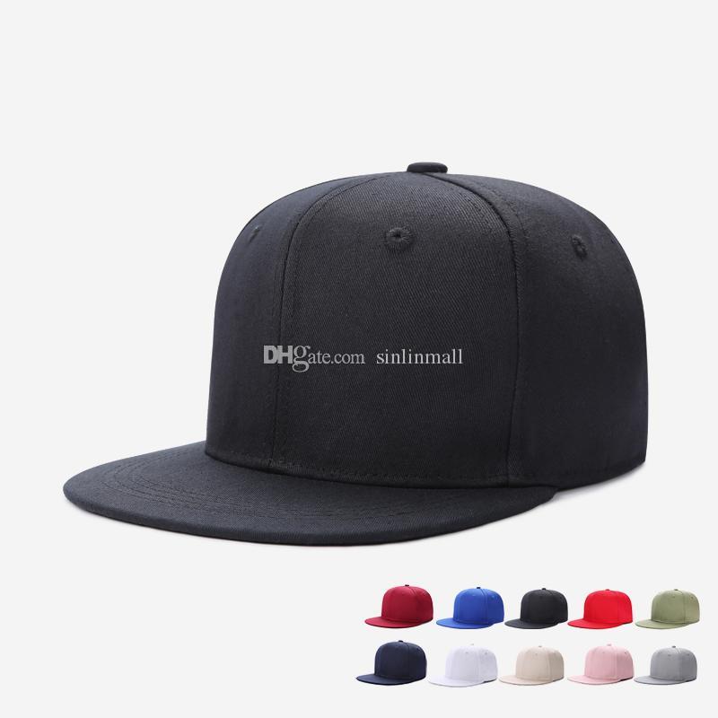 29b574c48242f Embroidery Skull Baseball Caps Hats Hip Hop Snapbacks Flat Brim Bones Gorra Sports  Snapback Caps For Men Women Unisex Flat Cap Trucker Hats From Sinlinmall