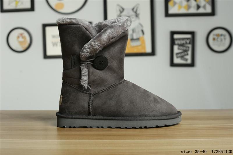 4eb253d551a3 Girls Love Australian Style Ugs Women Snow Boots Waterproof Winter ...