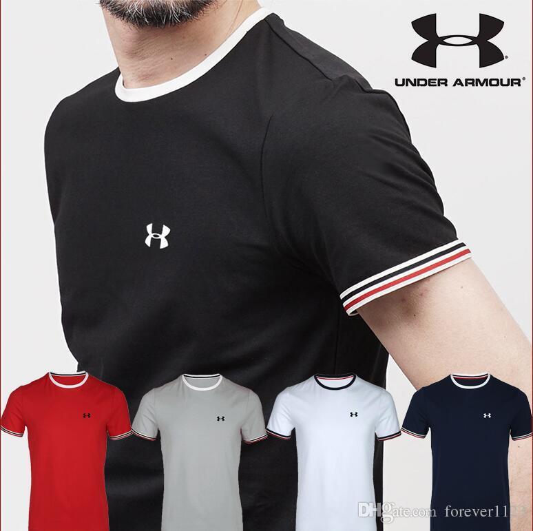 af1d5e7925 Spring/summer 2019 new men's T-shirt fashion print men's top round collar  cotton T-shirt short sleeve T-shirt s-3xl