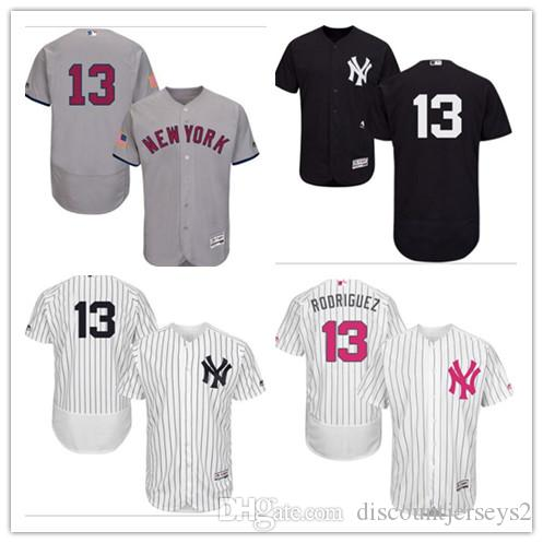 more photos 9682a d8fb7 2019 can Yankees Jerseys #13 Alex Rodriguez Jerseys men#WOMEN#YOUTH#Men s  Baseball Jersey Majestic Stitched Professional sportswear