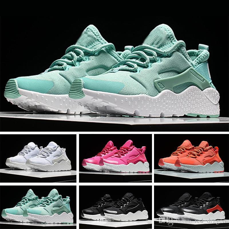 96df6d95d48fa 2018 Off New Air Huarache Ultra Run 4 IV Running Shoes For Men Women ...