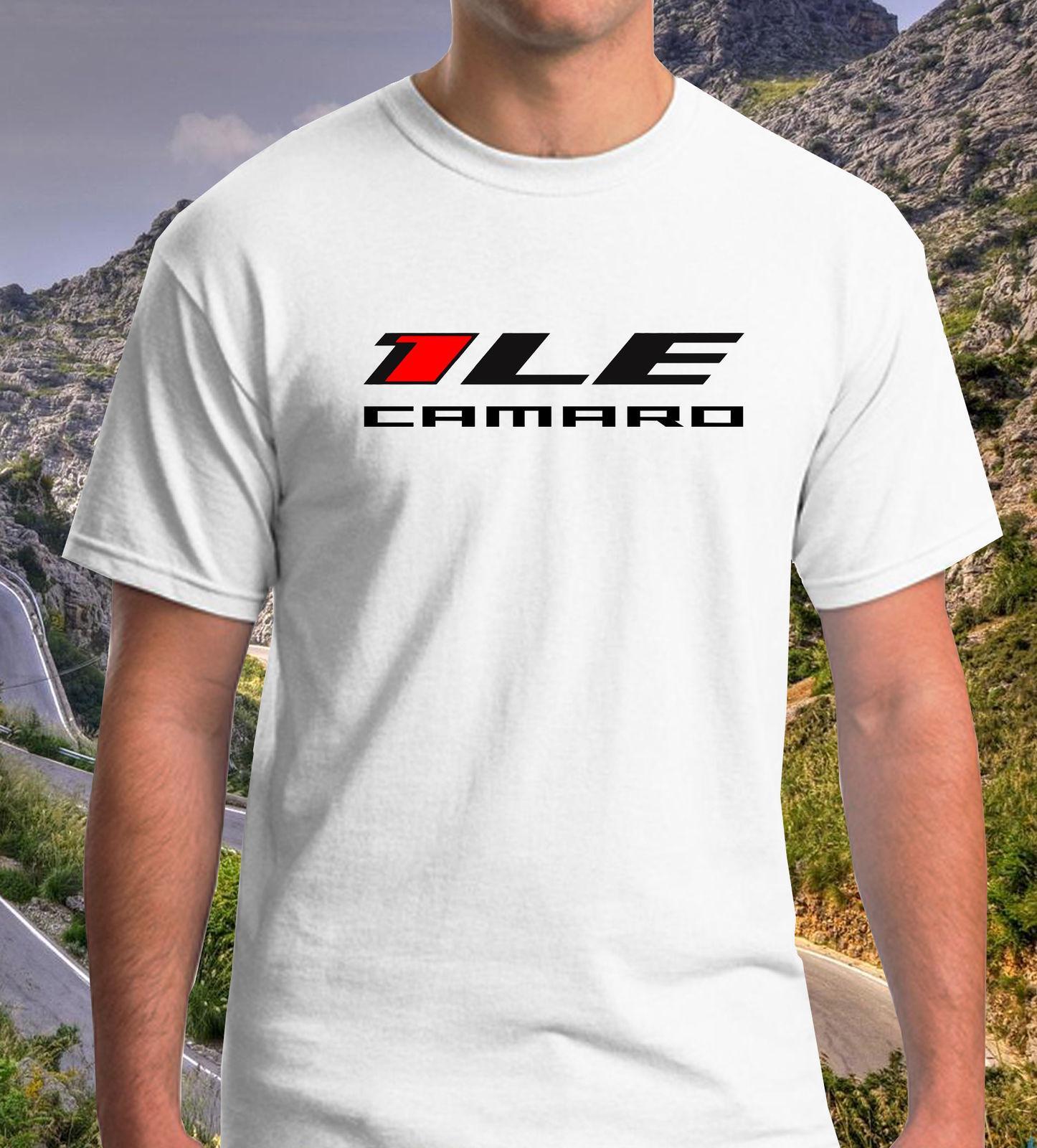 53e17ad1 Chevy Camaro 1LE Chevrolet 1 LE T-shirts Men's White Tee Size S to 3XL