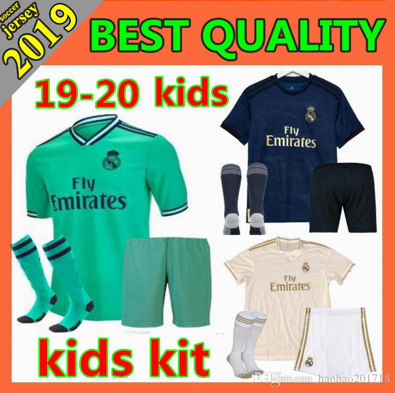 f8ee9dddb 2019 Kids Kit 2019 New Real Madrid MARIANO Soccer Jersey 2019 2020 ...