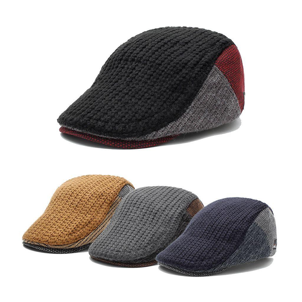 bd813534edf11 Compre Sombrero Casual De Punto Para Hombre