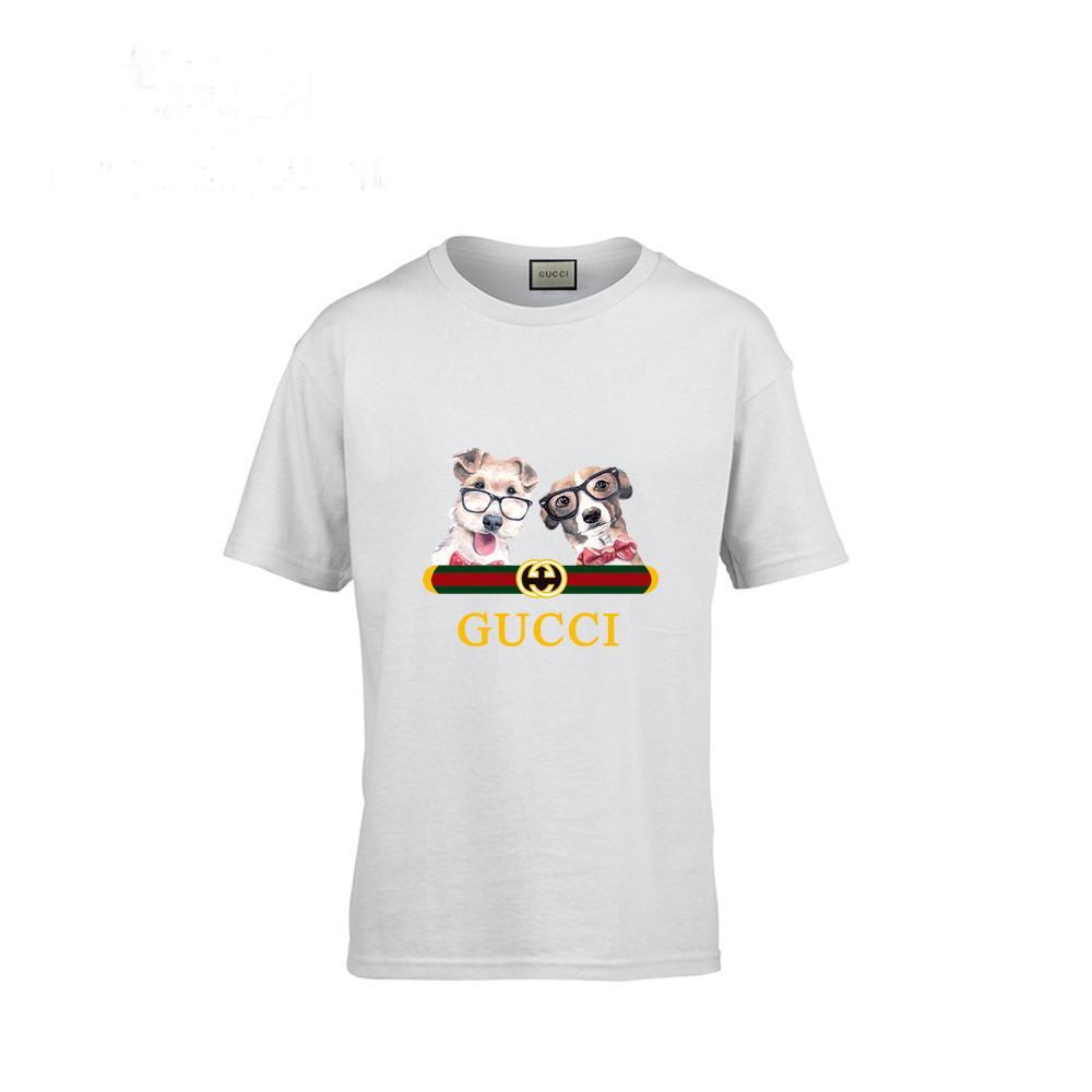 4ecc6f9b1ba 2019 New Pattern Cartoon Pure Cotton Children Dog Short Sleeve T T Shirt In  Large Child Stripe Male Girl From Fenash8