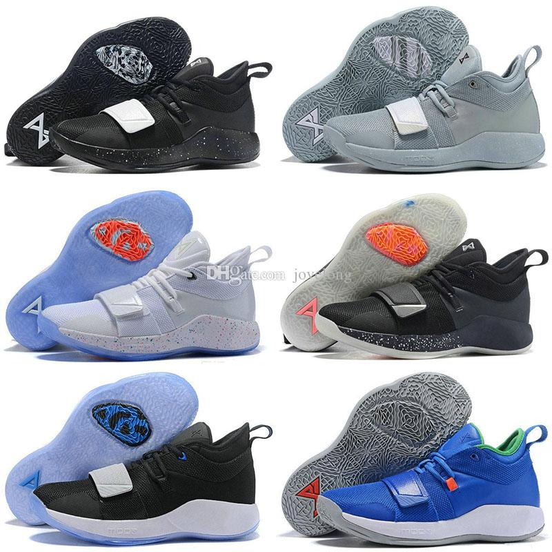 sale retailer 55e8b c161b 2019 New Paul George PG 3 3S PALMDALE Kids Basketball Shoes Cheap PG3  Starry Blue Orange Red Black Sports SneakersNew Arrival PG 2.5