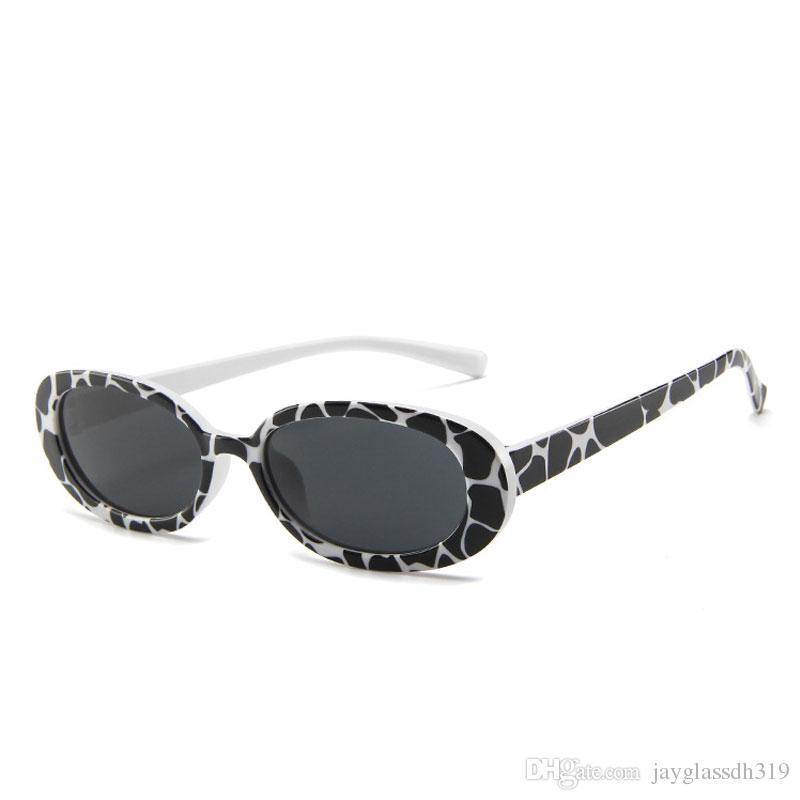 c9036cab65 Fashion Oval Sunglasses Women Brand Designer Small Round Sun Glasses For  Women Gift Shades Cool Zebra Shades UV400 Sunglasses Uk Polarised Sunglasses  From ...