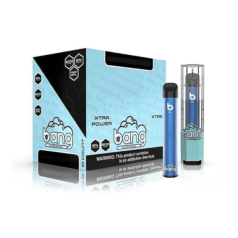 Bang XXL XL Einweggerät POD XXTRA Kit 600 2000 Puff Vape Pen 400mAh 800mAh Batterie Vorgefüllt 2ml Pods Kits vs xtra plus Flow Bar