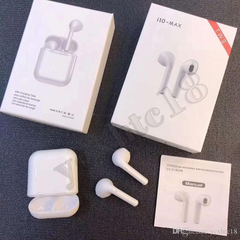 88fba8ef96d Repuestos Para Celulares I10 Max TWS Auriculares Inalámbricos Auriculares  Estéreo Con Doble Auricular Bluetooth Con Micrófono Más De I7s Afan Ifans  Con Caja ...