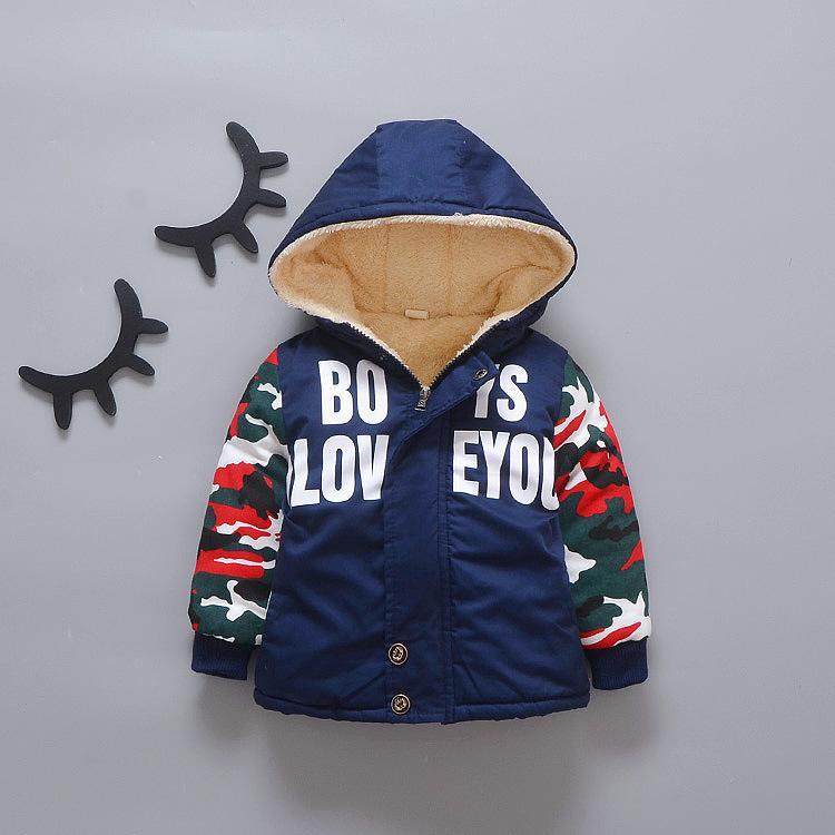 66e7761a2730 Good Qulaity Winter Baby Boys Coats Casual Fleece Velvet Long Sleeve ...