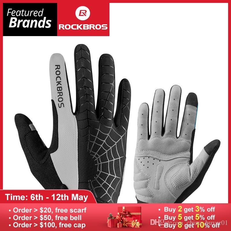 Windproof Cycling Gloves Touch Screen Riding MTB Bike Bicycle Glove Thermal  Warm Motorcycle Winter Autumn Men Clothing