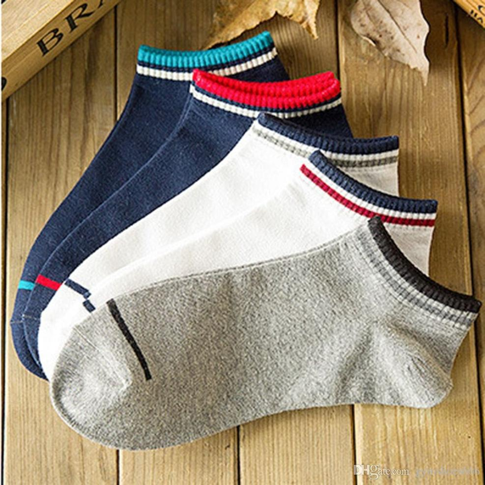 6858ade3b0ff 2019 Men Sports Socks Crew Short Ankle Low Cut Cotton SocksSports Socks   19778 From Gymshoes666