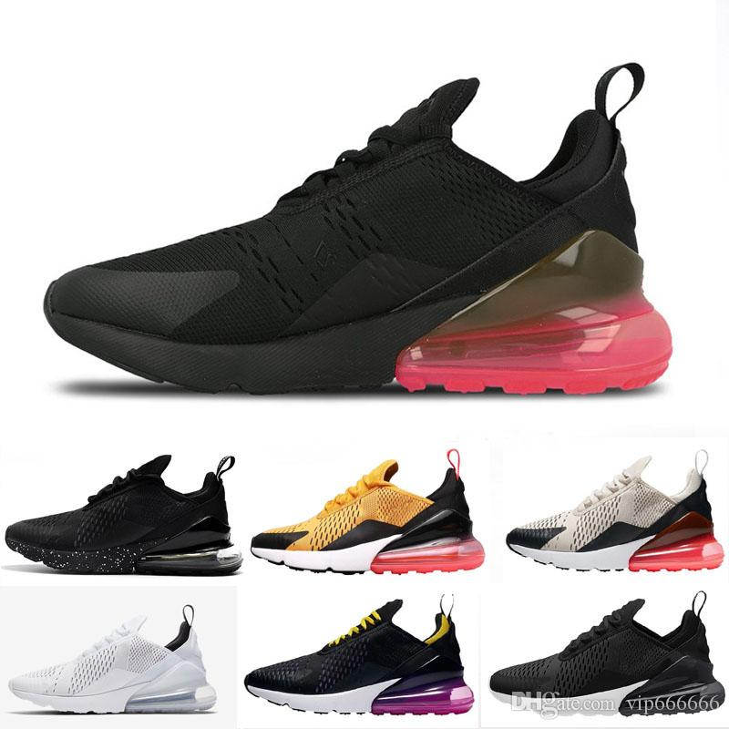 d7f3234e45 270 Running Shoes For Men Women Sneakers Trainers Sports Athletic Designer  Luxury Air Cushion 270 Maxes Hiking Jogging Walking Outdoor Shoe Cheap Shoes  Men ...