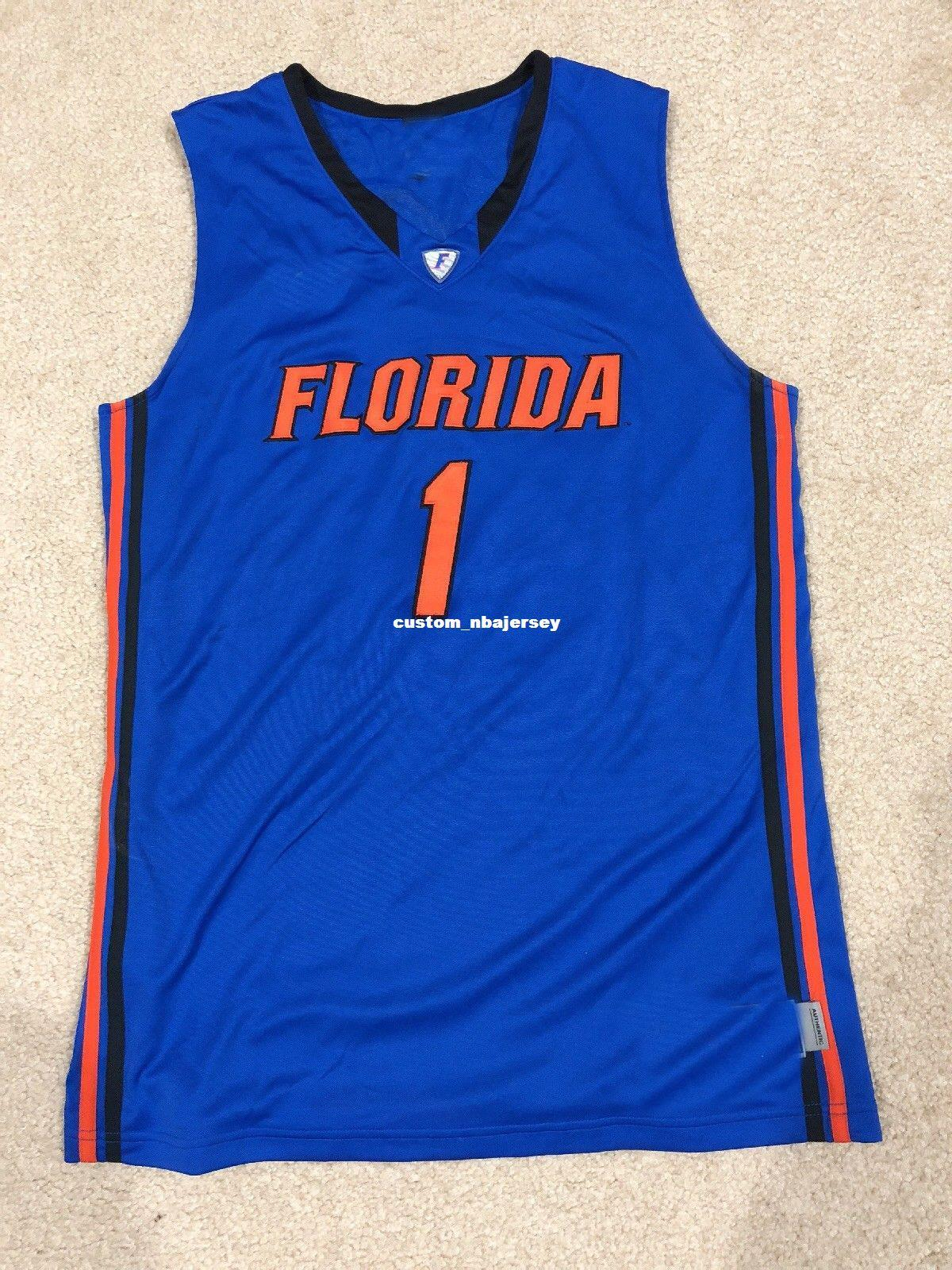 2a3cf6127 2019 Cheap Custom FLORIDA GATORS Basketball Jersey #1 Stitched Customize  Any Number Name MEN WOMEN YOUTH XS 5XL From Custom_nbajersey, $18.28 |  DHgate.Com