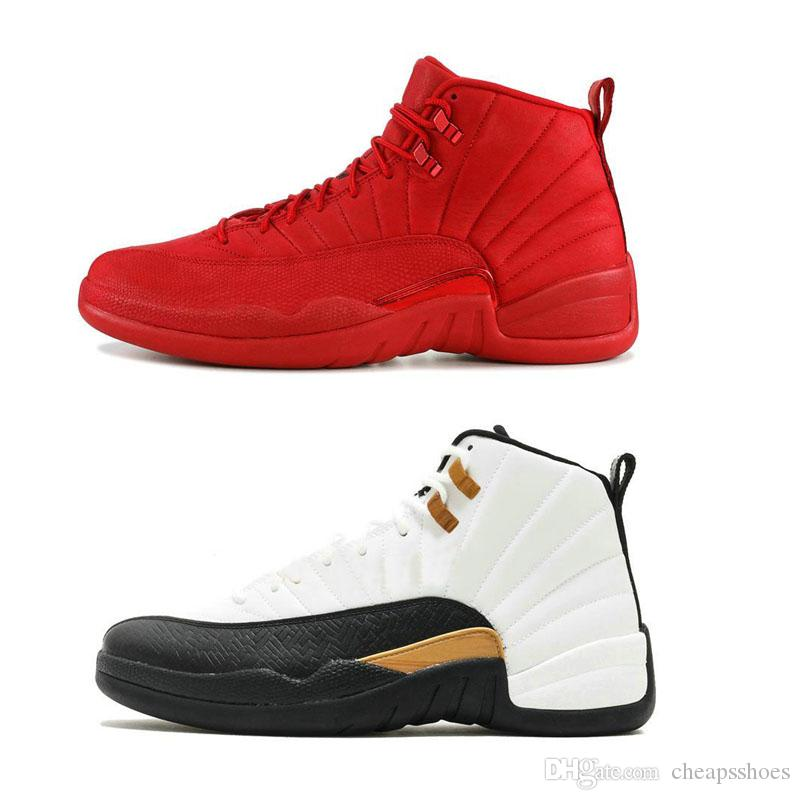 2019 12 CNY Chinese New Year Multicolor Winterized Men Basketball Shoes 12s Gym Red Flu Game Trainers Designer Sports Sneakers Size 7-12