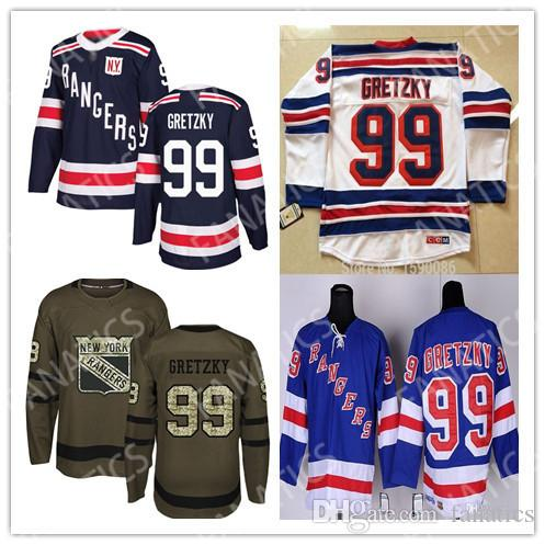 super popular f0f39 783e9 NY Rangers #99 Wayne Gretzky Jersey Youth New York Rangers Jerseys Kids  Wayne Gretzky Hockey Mens Womens Youth 4XL 5XL 6XL Jersey