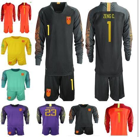 2019 2017 China Soccer Jerseys China Team Home Away Soccer Shirt Short  Sleeves Long Sleeve Uniform Soccer Sets Goalkeeper Shirt From Zhuhao2 e68d02623
