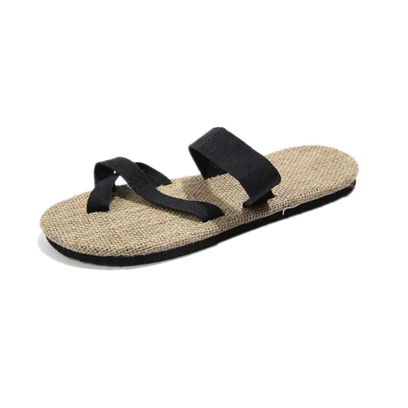 2c7288111 2019 Indoor Home Summer New Slippers Men 38 44 Beach Shoes Male Soft Comfort  Water Shoes Non Slip Men Sandals Flip Flops Womens Cowboy Boots Slippers  For ...