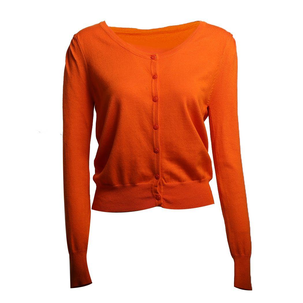 45f2d2f28328 2019 Women Basic Casual Women Cardigan Sweater Button Sweaters ...