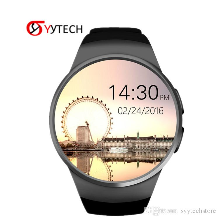 KW18 Bluetooth Smart Watch 1.3 Inch HD IPS Wristwatch SIM TF Card Slot Heart Rate Monitor Smart Bracelet