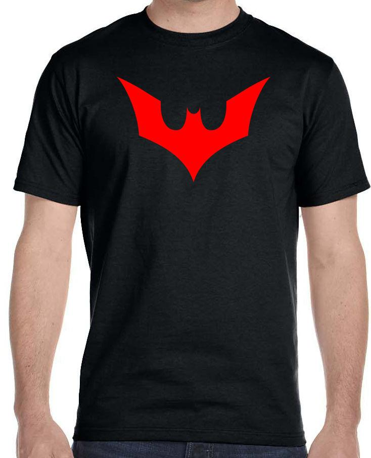 ba02cd95 Batman Beyond Logo T Shirt, Youth Adult Sizes O Neck Knitted Knitted  Comfortable Fabric, Street Style Men T Shirt,Top Quality Cotton Tshirt  Designs T Shirt ...