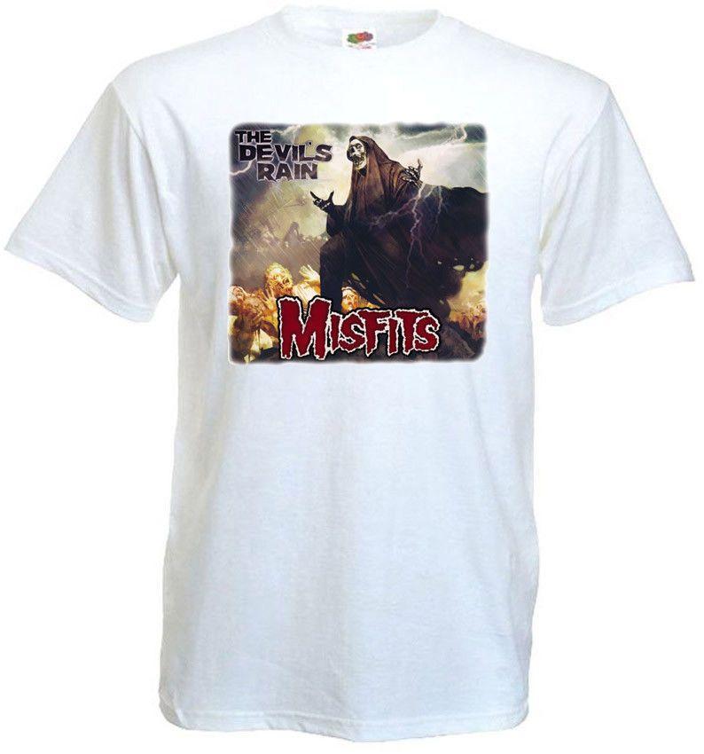 4101b6258 Compre Misfits V3 Cartaz T Shirt Branco Todos Os Tamanhos S 5XL Das  Mulheres Dos Homens Unisex Moda Tshirt Frete Grátis Preto De  Designprinttshirts02