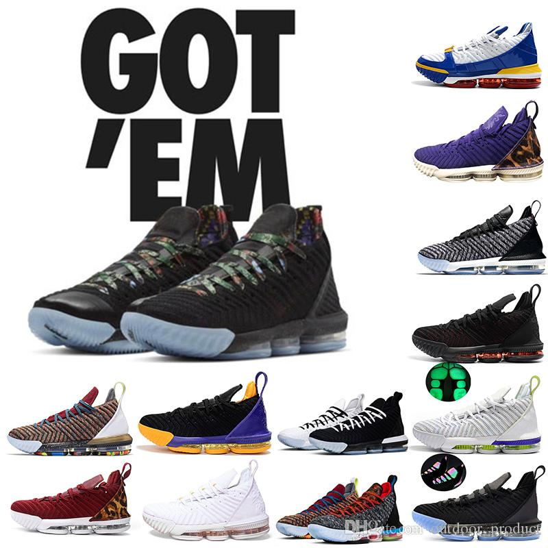 Watch The Throne New Luxury designer LB1 16 16s mens Basketball shoes I Promise Oreo 1 Thru 5 King trainers sneakers 7-13