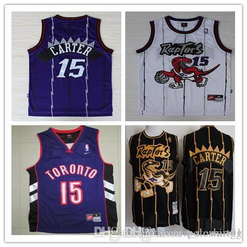 3eff54728d2 2019 Toronto Basketball 2018 2019 Raptors Jerseys 15 Carter City Fans  Edition Jersey From Sang2214