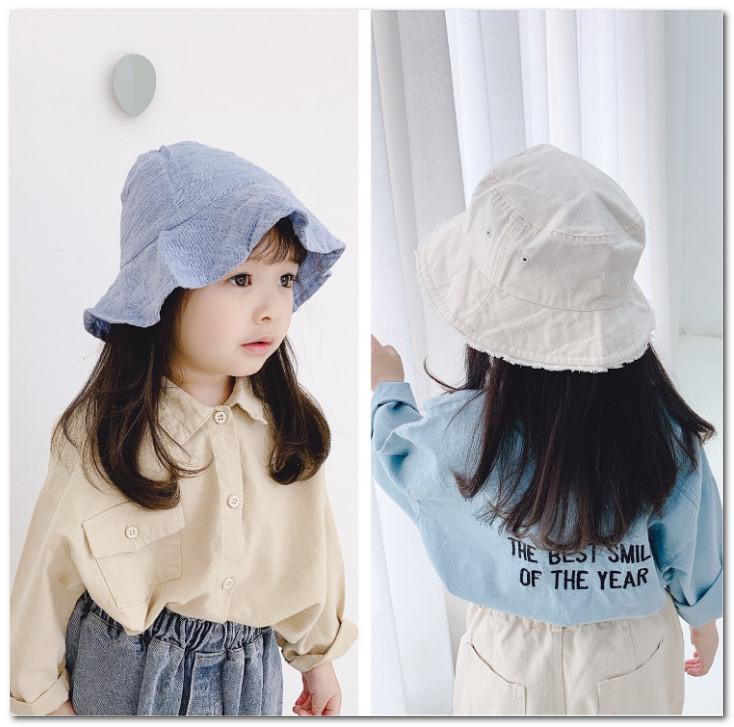 Fashion New girls shirt kids letter embroidered shirt girls lapel long sleeve casual tops 2020 Spring children clothing blus khaki J2486