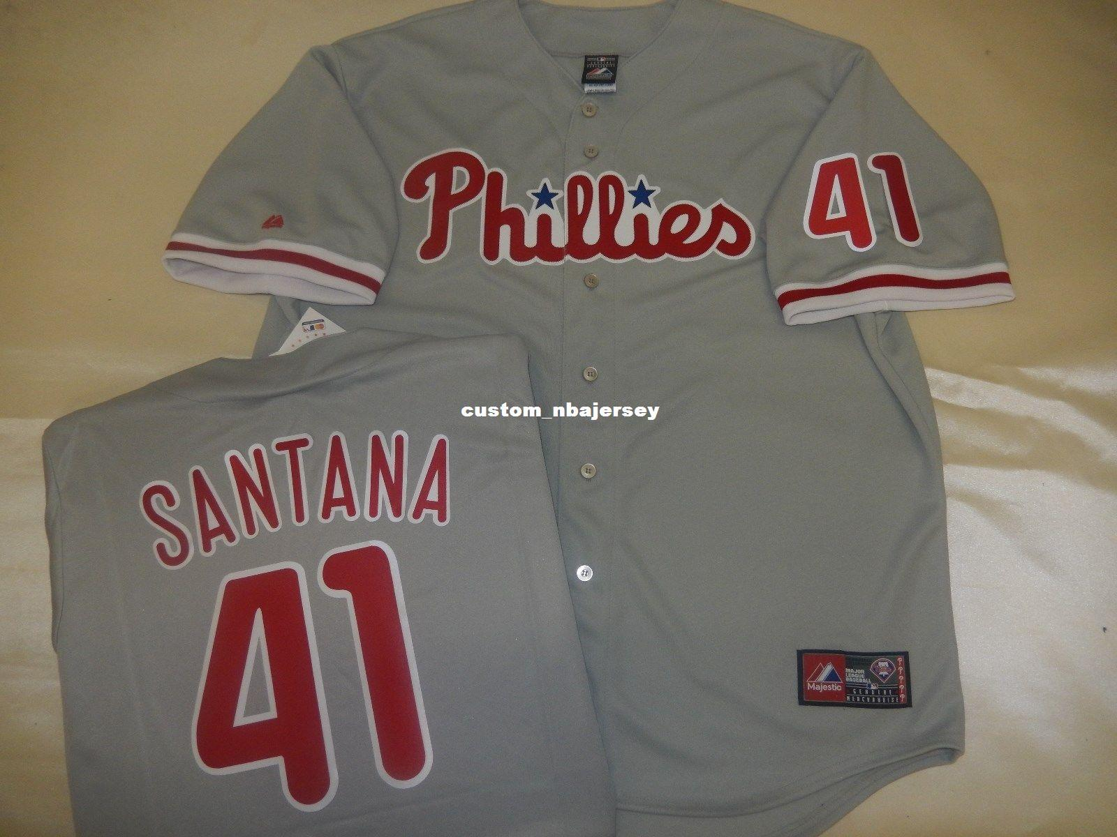 ... get cheap custom carlos santana sewn baseball jersey gray new stitched  customize any name number men 0a5b40fb1