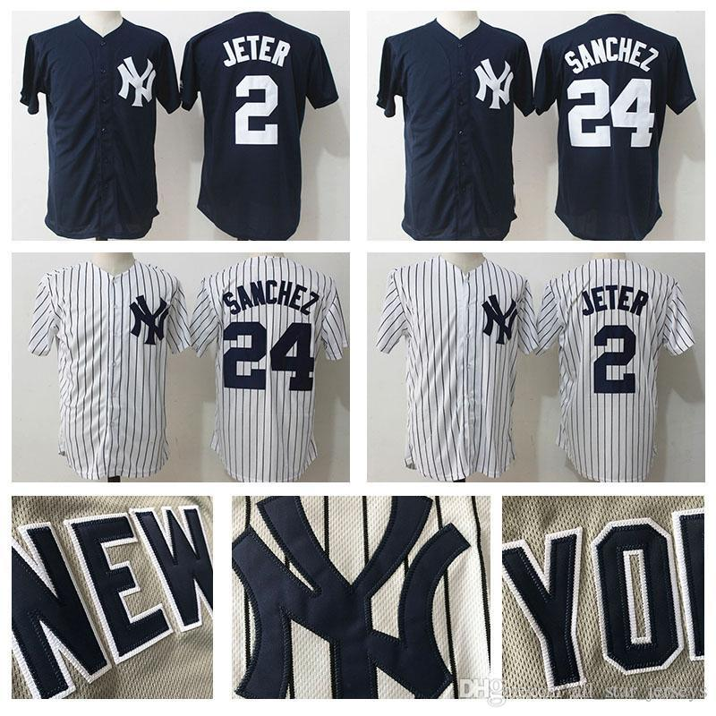 online store 09fc1 20f5d 2019 25 Gleyber Torres New York Jersey Yankees 99 Aaron Judge 2 Derek Jeter  23 Don Mattingly 24 Gary Sanchez 3 Babe Ruth 7 Mickey Mantle