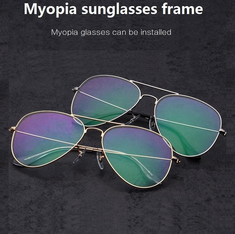 13811f539f626 Retro Titanium Alloyl Full Rim Men Prescription Myopia Optical Glass ...