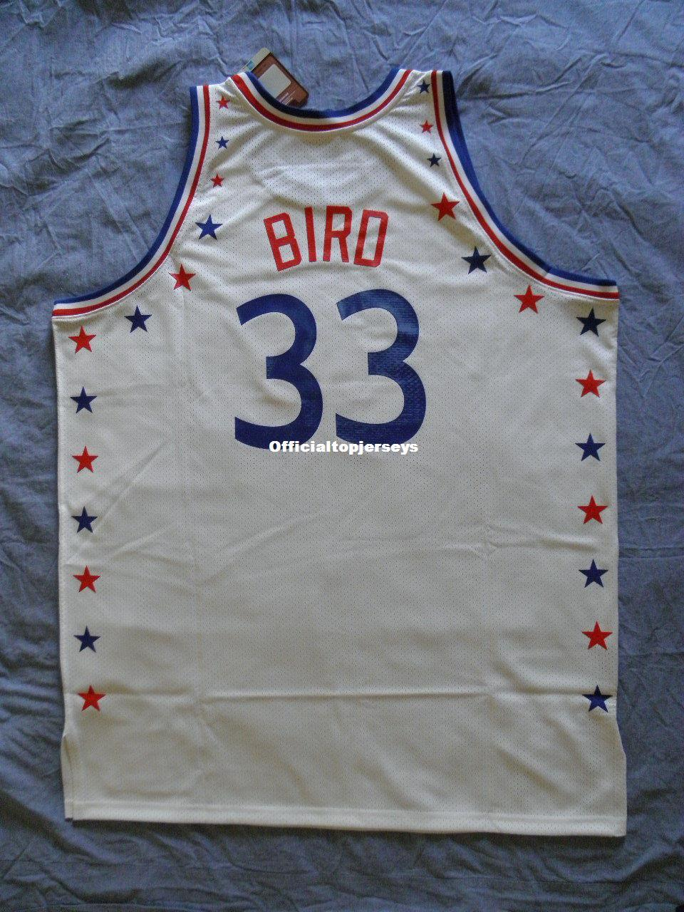 ef60360bfe4 2019 Cheap Mitchell Ness M&N Larry Bird #33 All Star Jersey NWT NEW Mens  Vest Size XS 6XL Stitched Basketball Jerseys Ncaa From Officialtopjerseys,  ...