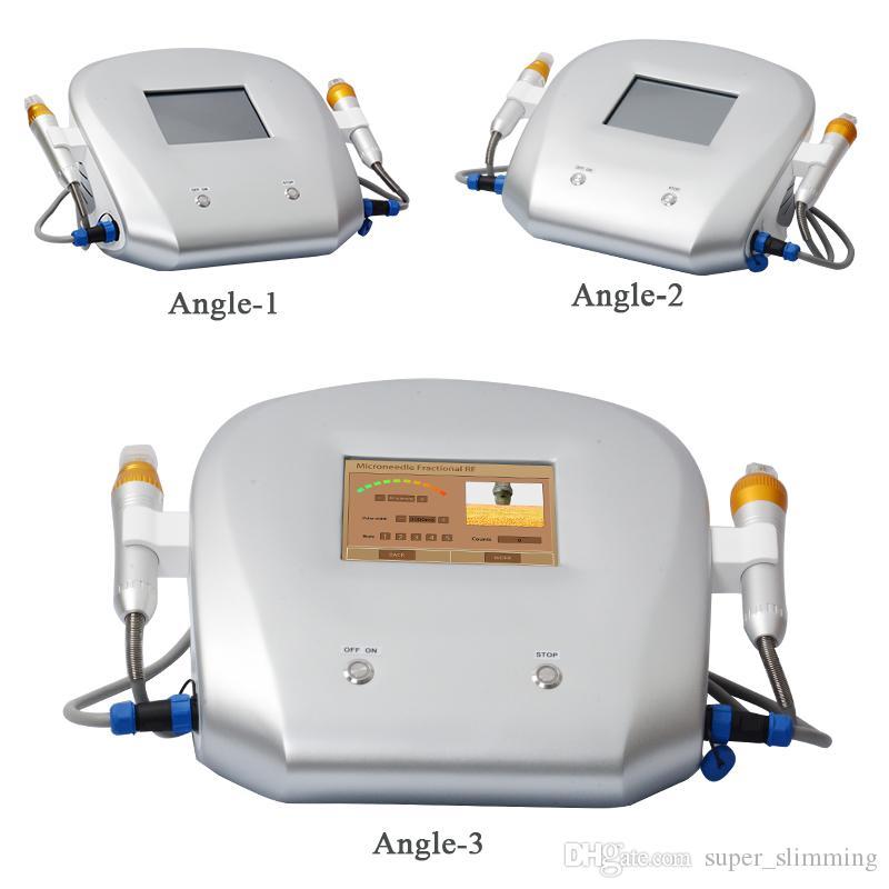 Micro agulha rf máquina fracionária máquina de radiofrequência facial manchas tratamento de remoção de rugas rf elevador máquina