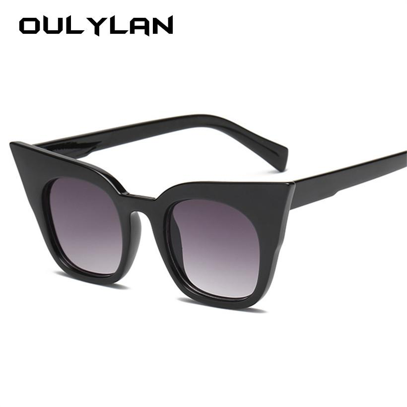 7ddf0f530d Oulylan Cat Eye Sunglasses Women Kids Cute Brand Designer Gradient Sun  Glasses Ladies Vintage Eyewear Parent Child Models Victoria Beckham  Sunglasses ...