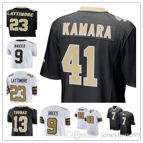 2019 7 Taysom Hill New Orleans 9 Drew Brees Jersey Saints 41 Alvin Kamara  13 Michael Thomas 23 Marshon Lattimore 28 Adrian Peterson 88 Dez Bryant From  ... 2cf0468ac