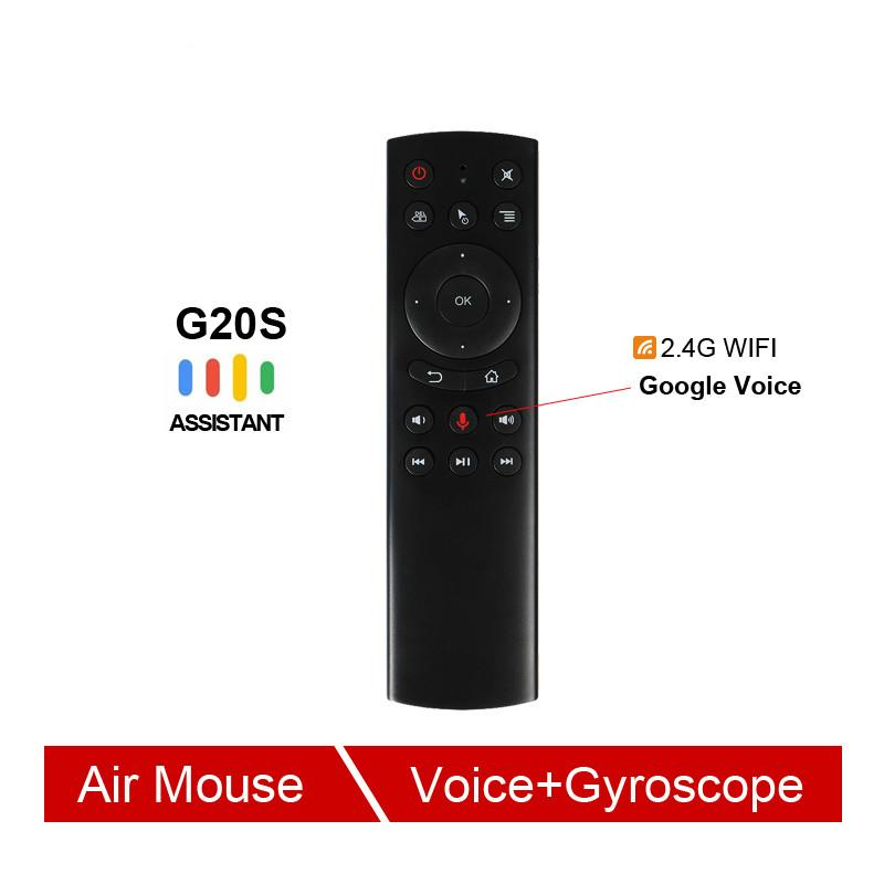 02fb65d9e8c G20 Voice Control 2.4G Wireless G20S Fly Air Mouse Keyboard Motion Sensing  Mini Remote Control For Android TV Box PC Backlit Wireless Keyboard  Beginner ...