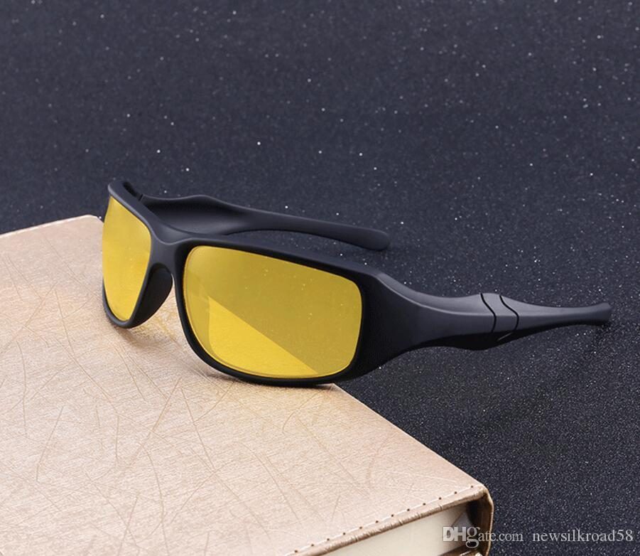 6a4c71b6e2b 2019 Night Vision Sun Glasses Anti Glare Glasses For Safety Retro Men  Driver Yellow Lens Eyewear Unisex Goggles Cheap Sunglasses Mens Sunglasses  From ...