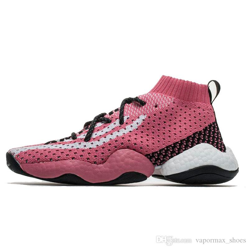 4b83026a4 BYW LVL 1 Pharrell Running Shoes Sport Pharrell X Crazy For Men Women  Outdoor Athletic Trainer Shoes Cheap Shoes Men Running Shoes From  Vapormax shoes