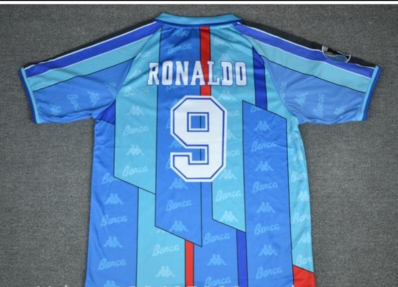 a2626706167 2019 96 97 Ronaldo Home Away Blue Jersey Retro Soccer Jersey 1996 1997  Ronaldo Classic Football Shirt Calcio MAGLIA Maillot Camisa De Futebol From  ...