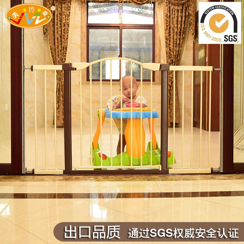2019 Baby Child Safety Gate Bar Baby Fence Stairs Barrier Fence Pet