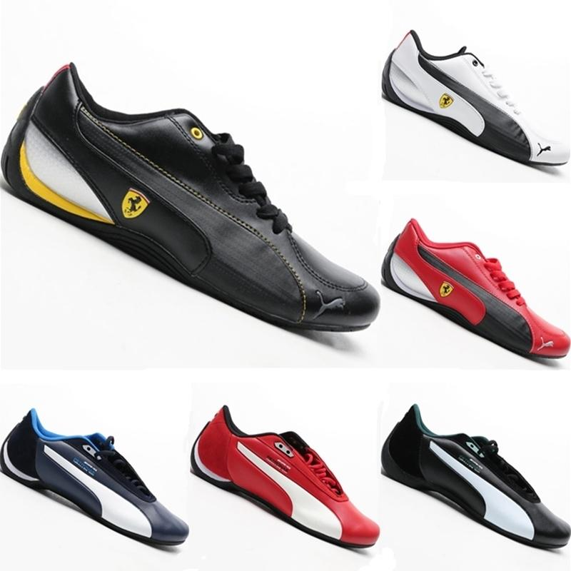 With Box 2019 Future Drift Cat 5 SF Leather Splicing Fashion Racing Shoe Original Future Drift Cat 5 SF Vibram Light Kart Sneakers